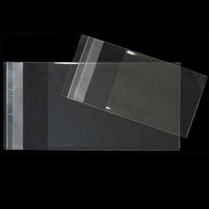 BOLSAS DE CELOFAN con CIERRE ADHESIVO 12x18 cm.