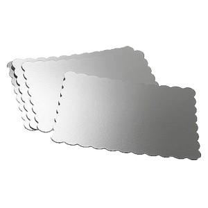 BASE RECTANGULAR FINA Wilton PETALOS 33x48 cm. 4 unidades