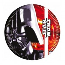 PLATOS Star Wars Darth Vader 23 cm. PACK x 8