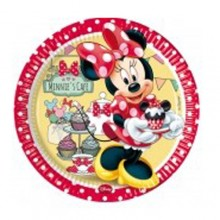 PLATOS MINNIE CAFE 23 cm. PACK x8