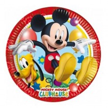 PLATOS MICKEY 23 cm. PACK x8