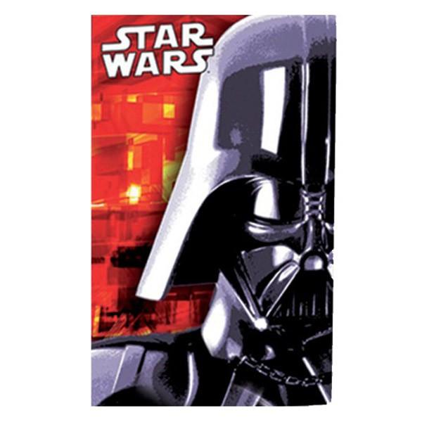 Tarjeta Invitacion Star Wars Pack X 6