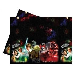 MANTEL PLASTICO HEROES Star Wars 120x180 cm.