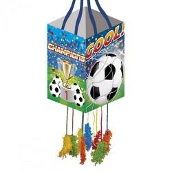 PIÑATA PEQUEÑA CHAMPIONS GOL - cumpleaños infantiles futbol ArtCakes