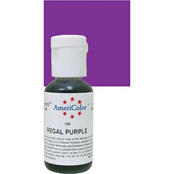 Colorante gel púrpura real 'Regal Purple' Americolor 21 gr.