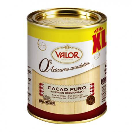 Cacao en polvo 100% natural Valor