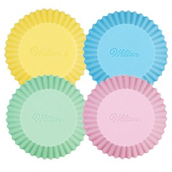 Cápsulas de silicona Wilton para cupcakes.