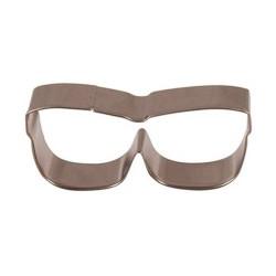 Cortante de galletas con forma de gafas