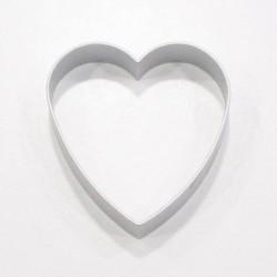 Cortante de galletas con forma de corazón