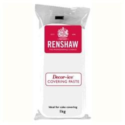 Fondant Renshaw blanco, sabor vainilla. 1 kg