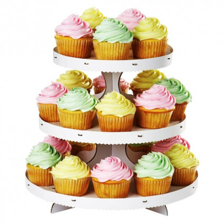 Expositor de cupcakes Wilton con 3 niveles