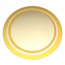 Base oro plata REDONDA 10 cm.