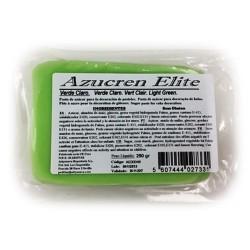 Fondant Azucren Elite color verde claro 250 grs. SIN GLUTEN