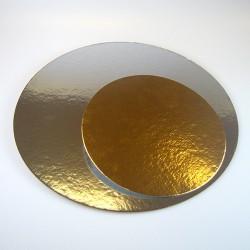 Base oro plata redonda 35 cm