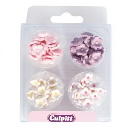 Surtido mini flores en pasta de azúcar Culpitt