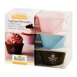 cupcakes, moldes silicona cupcakes, magdalenas, capsulas silicona, RBV Birkmann