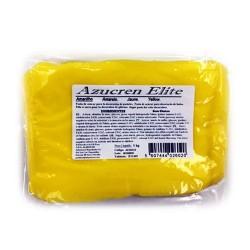 Fondant Azucren Elite color amarillo. Tartas fondant