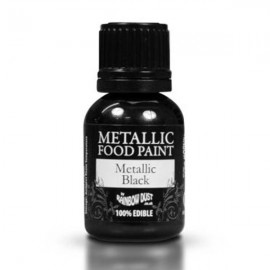 PINTURA METALICA Rainbow Dust NEGRO