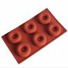 MOLDE SILICONA DONUTS x6