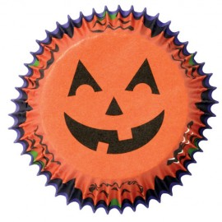 CAPSULAS Wilton CALABAZA JACK-O-LANTERN, cupcakes halloween