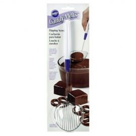 CUCHARA METAL Wilton para CHOCOLATE
