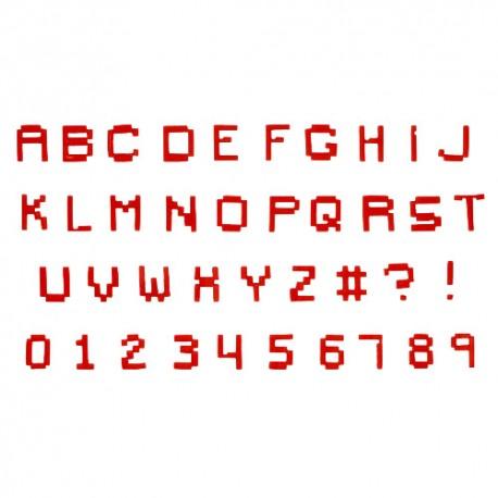 CORTANTES Fmm ALFABETO y NUMEROS Pixel