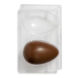 MOLDE POLICARBONATO Decora HUEVO CHOCOLATE, huevo de pascua